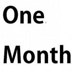 赴任先に来て1ヶ月が過ぎました